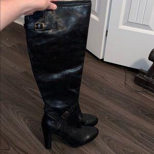 NWOT Ugg black riding boots